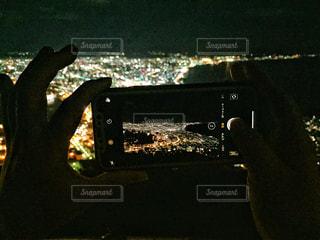 函館山からの夜景 フォトインフォトの写真・画像素材[1562354]