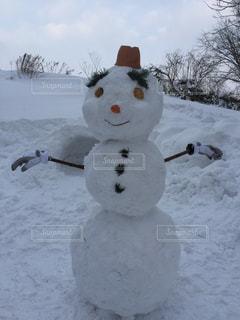 雪,白,北海道,大きい,雪だるま,巨大,フォトジェニック,インスタ映え