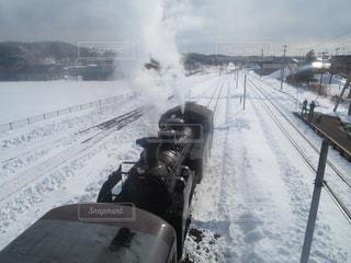 雪,白,北海道,大きい,蒸気機関車,フォトジェニック,インスタ映え,S L