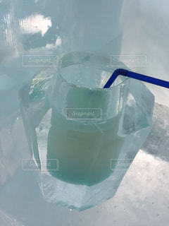 飲み物,雪,白,氷,ホワイト,冷たい,アイスバー,氷上,然別湖,氷のグラス,氷コップ,しかりべつ湖コタン