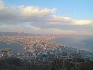 白,北海道,函館,函館山,眺め