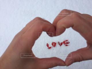 紅葉,LOVE,文字,雪,葉っぱ,手,ハート,メッセージ,♡,フォトジェニック,インスタ映え