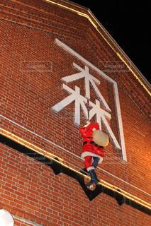 函館赤レンガ倉庫、サンタクロースの写真・画像素材[1691323]