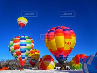 熱気球の写真・画像素材[1872628]