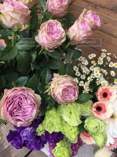 花,屋内,ピンク,花束,日常,薔薇,ブーケ,可愛い,お洒落,可憐,草木,ファンシー