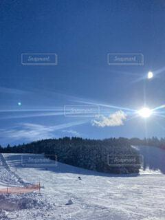 空,冬,雪,屋外,晴れ,山,スキー,運動,スキー場,スノーボード,ウィンタースポーツ,日中