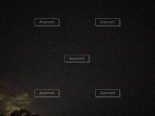 北斗七星のある夜空の写真・画像素材[4752311]