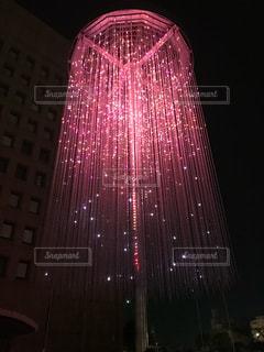 ピンク,キラキラ,フェスティバル,pink,徳島県庁,LEDアート
