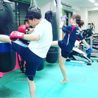 キックボクシングの写真・画像素材[1511427]