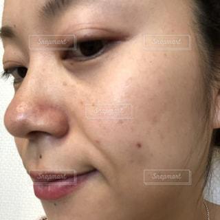 女性,すっぴん,洗顔,スキンケア,肌