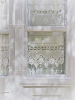 白,窓,カーテン,木漏れ日,ホワイト