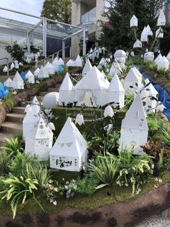 屋外,白,家,ホワイト,名古屋,愛知県,飾り,星ヶ丘テラス