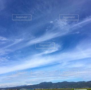 風景,空,秋,雲,山,景色,熊本,秋空,日中,澄んだ空