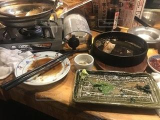 食事,料理,餃子,食後,食べ終え