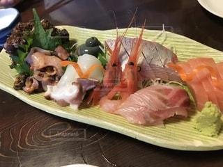 ディナー,料理,北陸,刺身,エビ,魚介類,父の日,おしゃれ,インスタ映え,お父さんありがとう