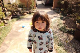 子ども,屋外,男の子,2歳,天然パーマ,ヘアースタイル,ふるゆわ