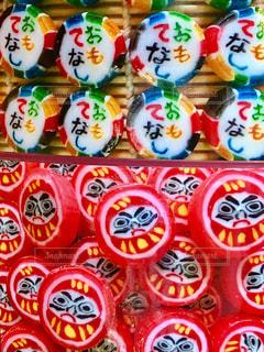 金太郎飴の写真・画像素材[1555923]