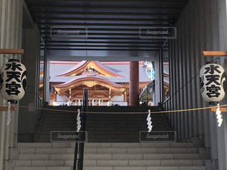 水天宮の階段の写真・画像素材[2147951]
