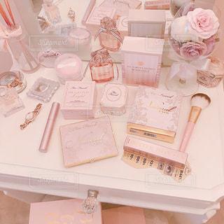ピンク,部屋,可愛い,コスメ,化粧品,アイテム,ドレッサー,姫系