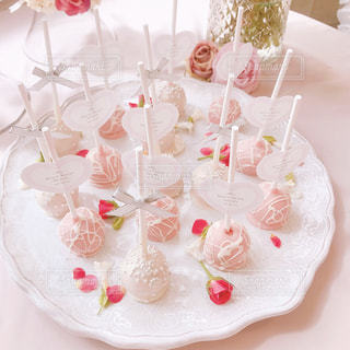 白いウエディング ケーキの写真・画像素材[1477391]