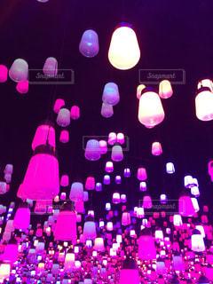 ピンク,ランプ,桃色,pink,チームラボボーダレス