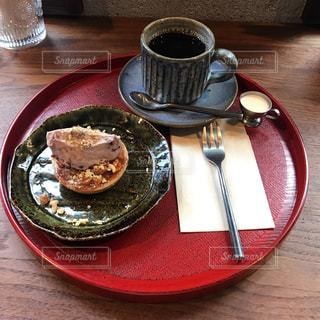 食べ物,スイーツ,カフェ,コーヒー,テーブル,皿,和,食,あんこ,食欲の秋,配置