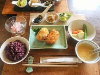 カフェ,揚げ物,小鉢,食欲の秋,16穀米