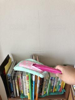 本棚のホコリ