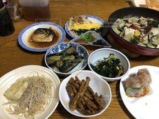 皿,和食,一品,持ち寄り,頂き物,かしわめし,ごぼう茶