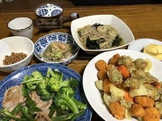 大皿料理が好きなので。の写真・画像素材[1649114]