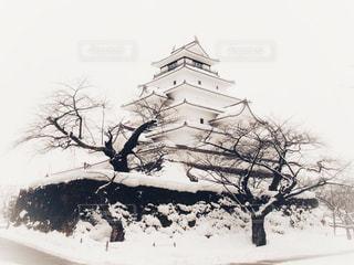 雪,白,城,ホワイト,鶴ヶ城,会津城