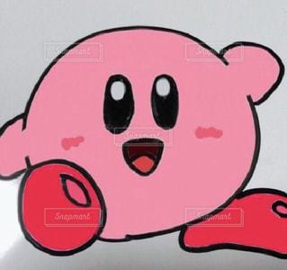 ピンク,イラスト,pink,カービィ