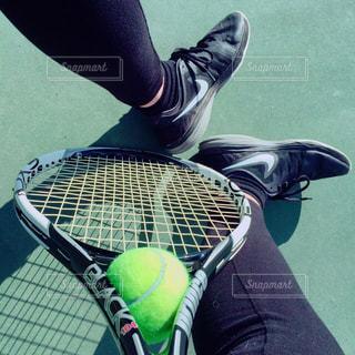 女性,スポーツ,靴,屋外,コート,人物,テニス,運動,若者,ラケット,スポーツの秋