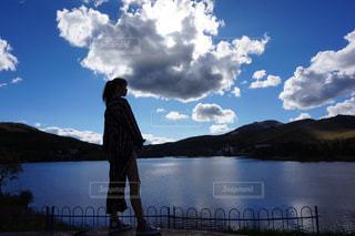 湖の写真・画像素材[1689518]