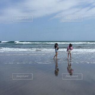 空と海の写真・画像素材[4470431]