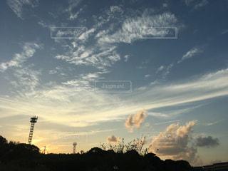 空,雲,夕暮れ,未来,夢,ポジティブ,可能性