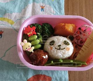 パンダのおにぎりのお弁当🐼の写真・画像素材[1493913]