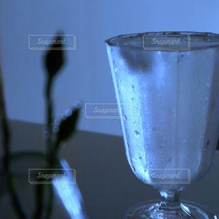 緑,植物,青,室内,水滴,シルエット,ガラス,つぼみ,コップ,壁,グラス,蕾,雫,玉ボケ,しずく,滴,クリア,透明感,みず,キッチンカウンター