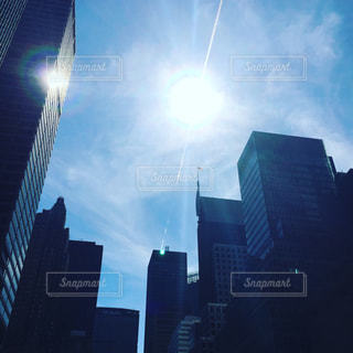 空,ニューヨーク,青空,NY,マンハッタン,夢,希望,アメリカンドリーム