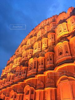 風景,景色,観光,旅行,インド,海外旅行,風の宮殿,ラジャスタン,ジァイプル
