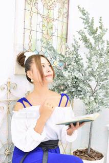 読書の秋の写真・画像素材[1558546]