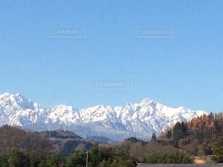 自然,風景,空,秋,雪,青空,山,北アルプス