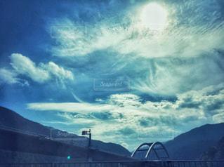 雲,秋空,陽ざし