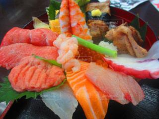 秋,海鮮丼,食欲