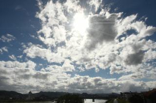 空,秋,太陽,雲