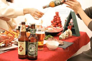 クリスマスパーティの写真・画像素材[2817407]