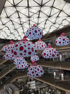 草間彌生さんの水玉の写真・画像素材[1553638]