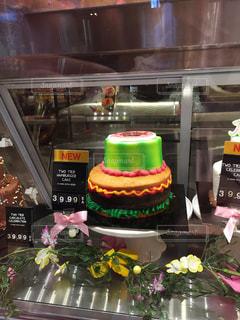 鮮やかなケーキの写真・画像素材[1553713]