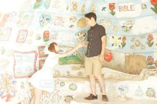 新婚旅行の写真・画像素材[1003994]