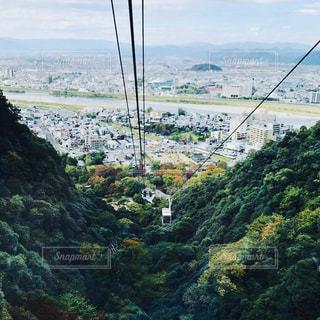 秋,紅葉,景色,ロープウェイ,お出かけ,近所,金華山